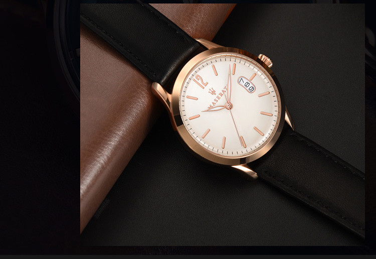 玛莎拉蒂男士石英手表
