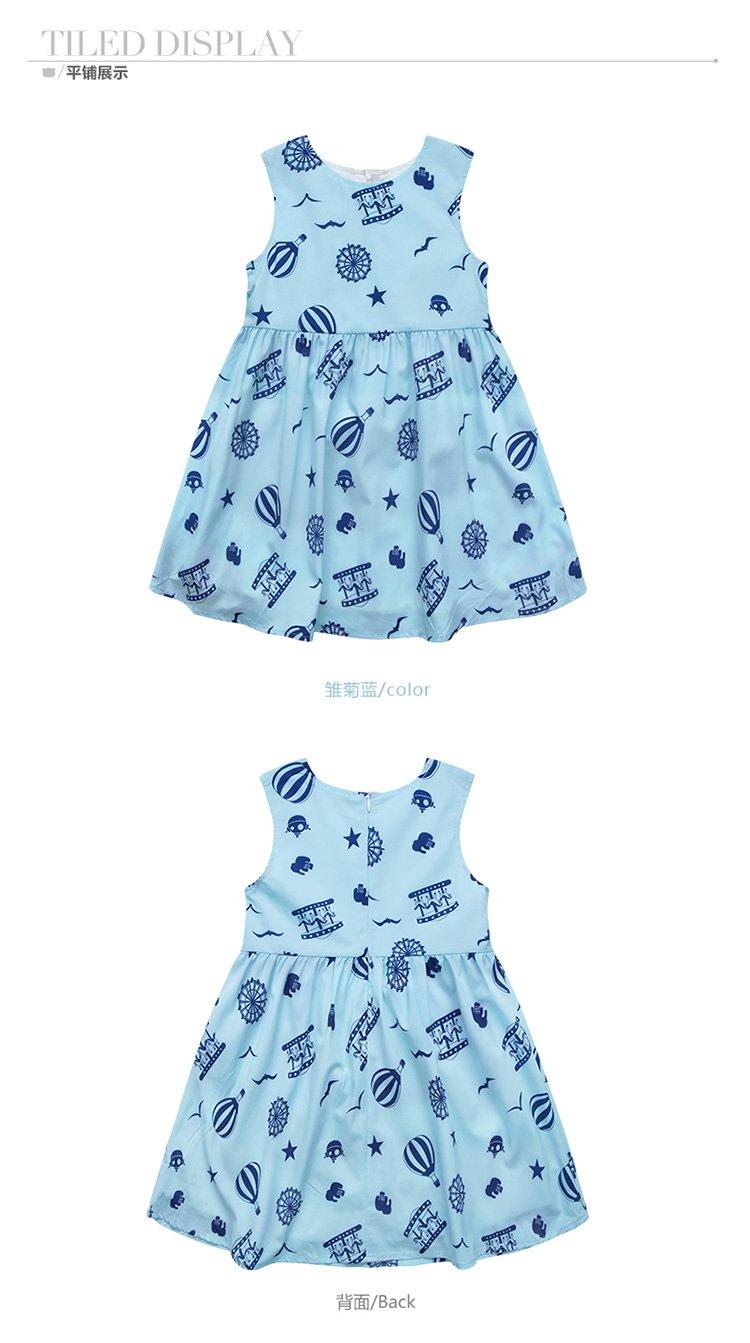 儿童梭织连衣裙