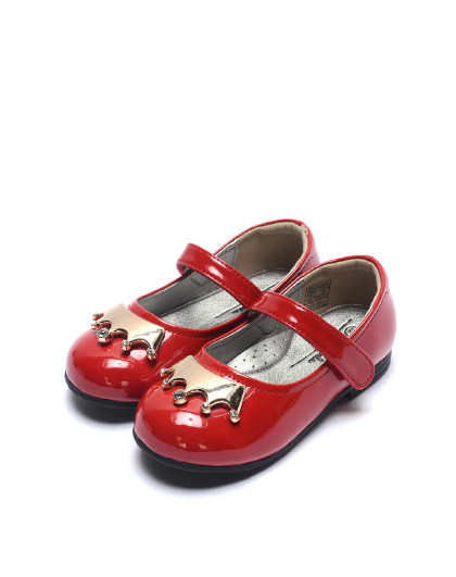 巴拉巴拉童鞋女童时尚公主鞋秋季表演皮鞋软底儿童小宝宝演出鞋女