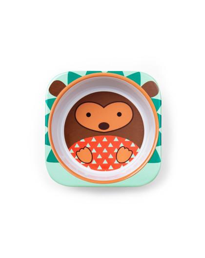 美国进口skip hop可爱动物园餐具组合