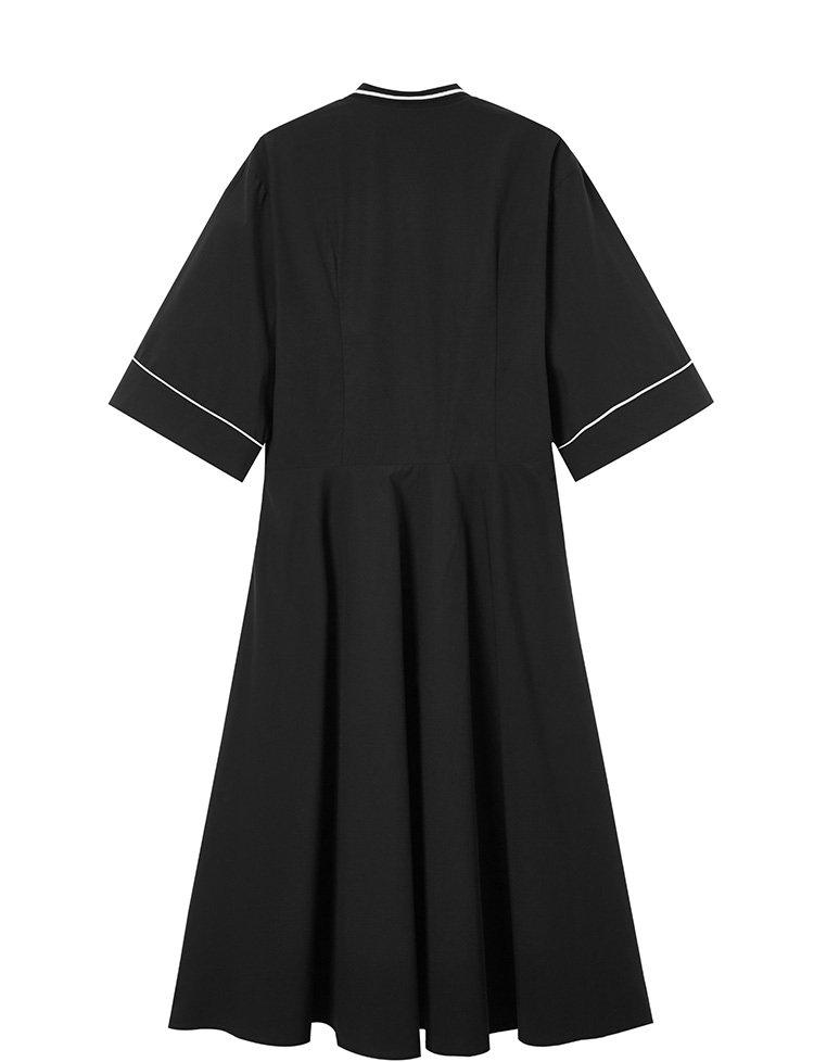 工裝風連衣裙