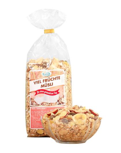 德国进口 保罗森 水果麦片500g
