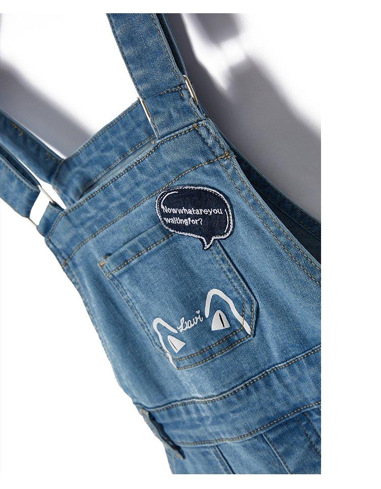 牛仔背带裤  品牌名称: lavi 商品名称: 牛仔背带裤 材质: 面料:70.