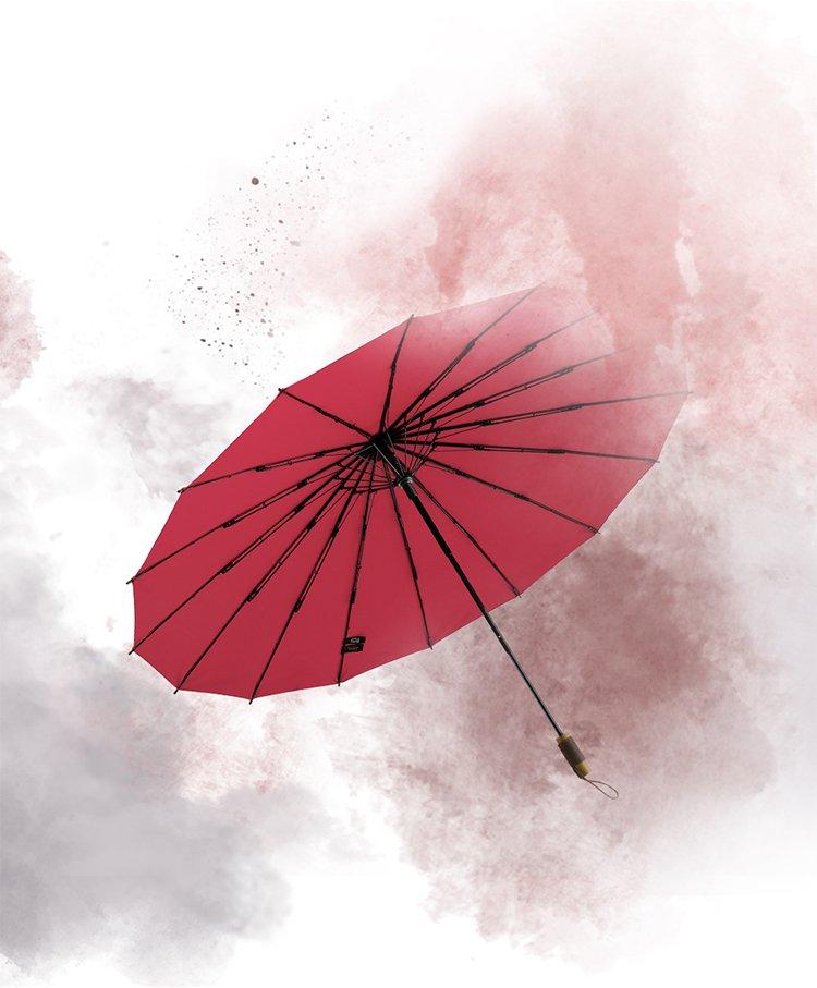 蕉下新品江南定制复古伞油纸高端晴雨伞太阳伞遮阳伞女
