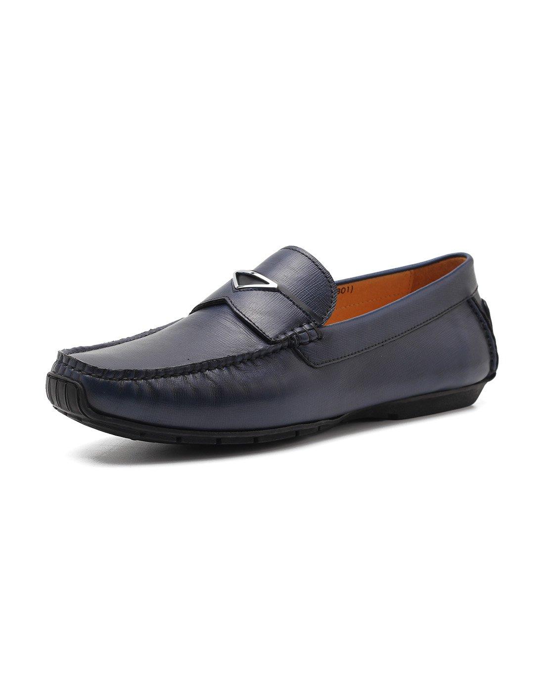 都彭都彭 男士舒适套脚牛皮开车鞋乐褔鞋休闲鞋男鞋G22240920801