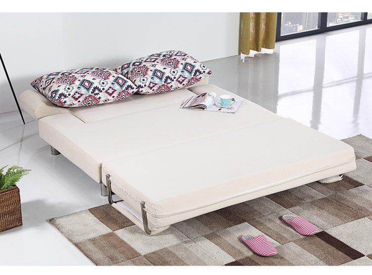 小户型客厅多功能布艺沙发沙发床图片