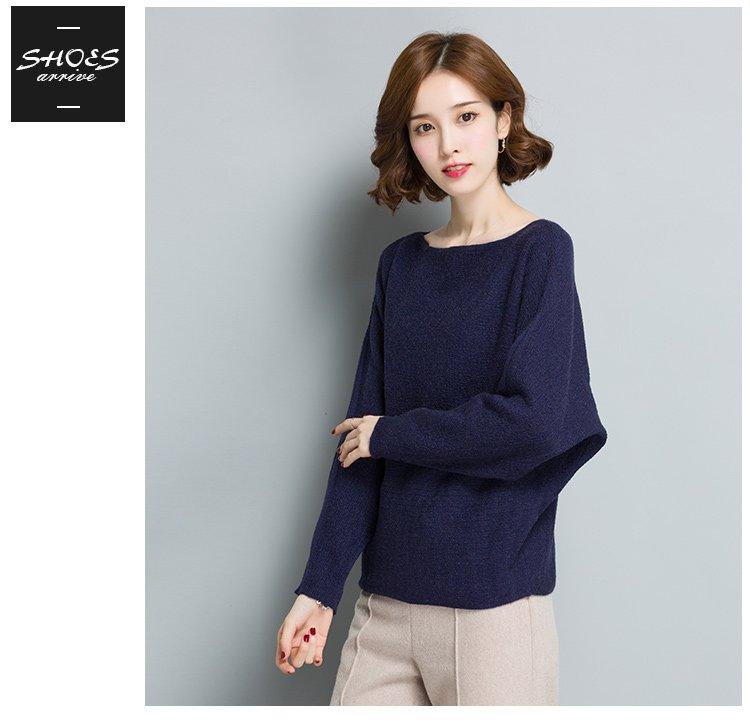 2018新款针织衫 女款时尚减龄针织衫