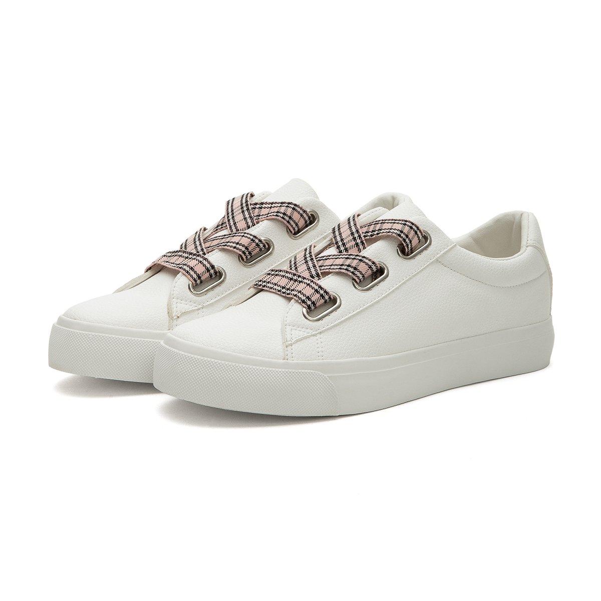 麦昆小白鞋鞋带系法