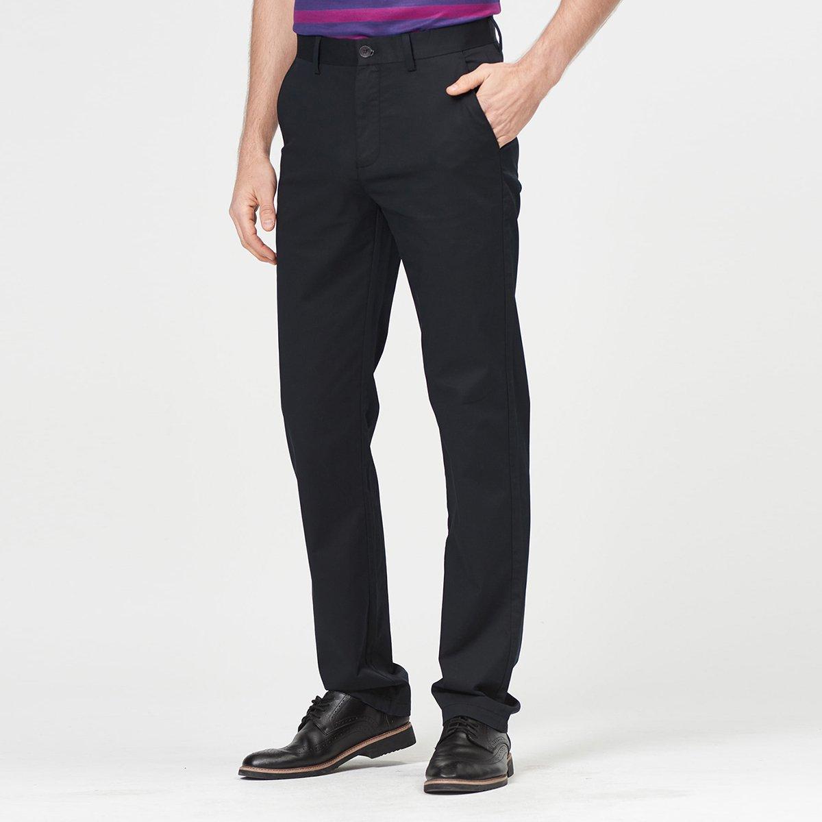 杉杉2019春季新款商务休闲修身长裤男士休闲裤SHANSHAN97H012-1