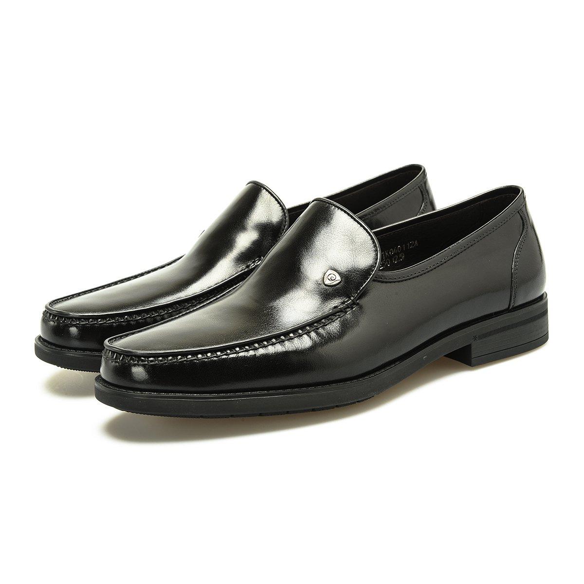 皮尔·卡丹光面软牛皮舒适一脚蹬套脚皮鞋男鞋男士商务鞋男士皮鞋P7401K040112A00