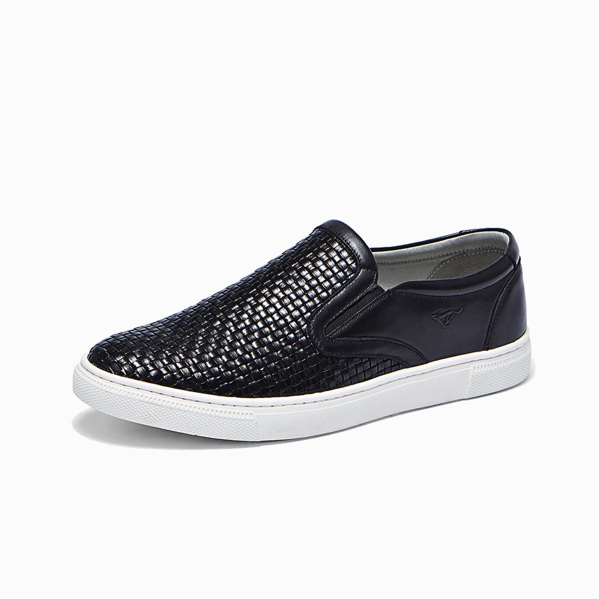 七匹狼七匹狼男鞋新品编织鞋业时尚休闲鞋87412802