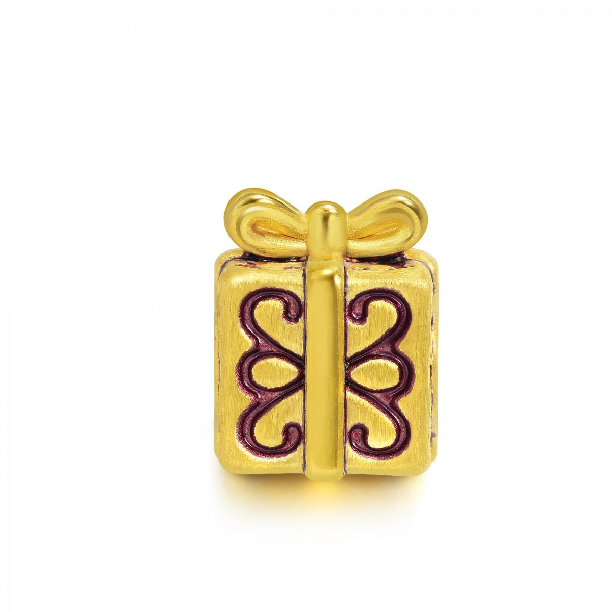 周生生周生生黄金Charme礼物盒转运珠(配绳需另购)B89245p如图