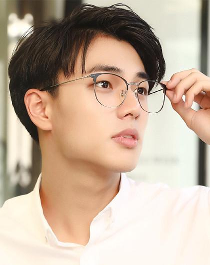 2019新款男眼鏡光學鏡架全框平光鏡近視眼鏡架圖片