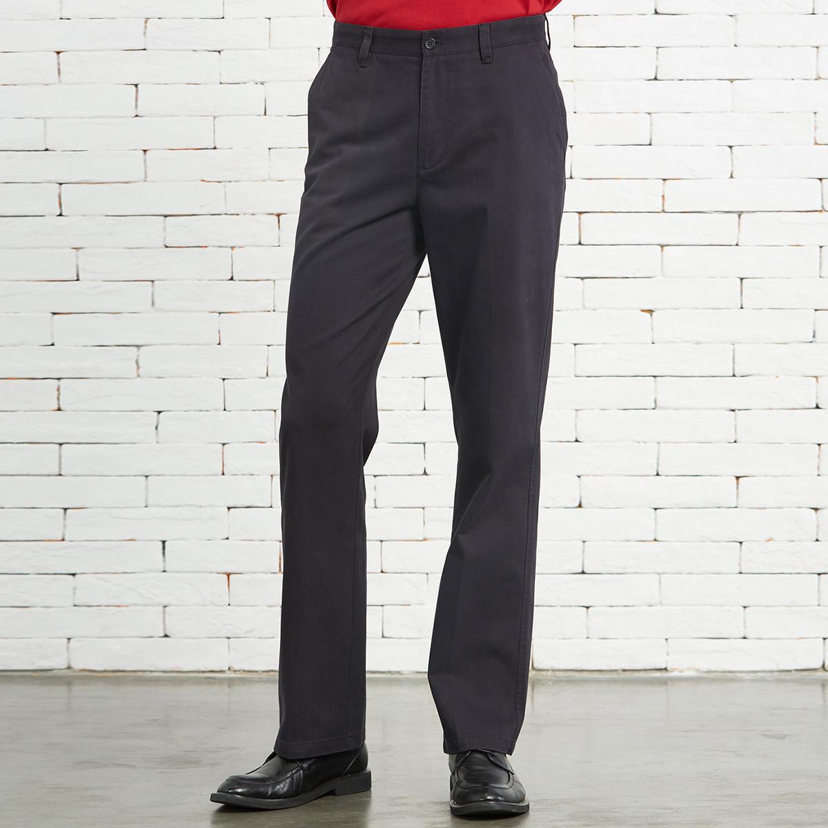 圣大保罗圣大保罗商务全棉舒适直筒男款休闲裤PW11WP105K9