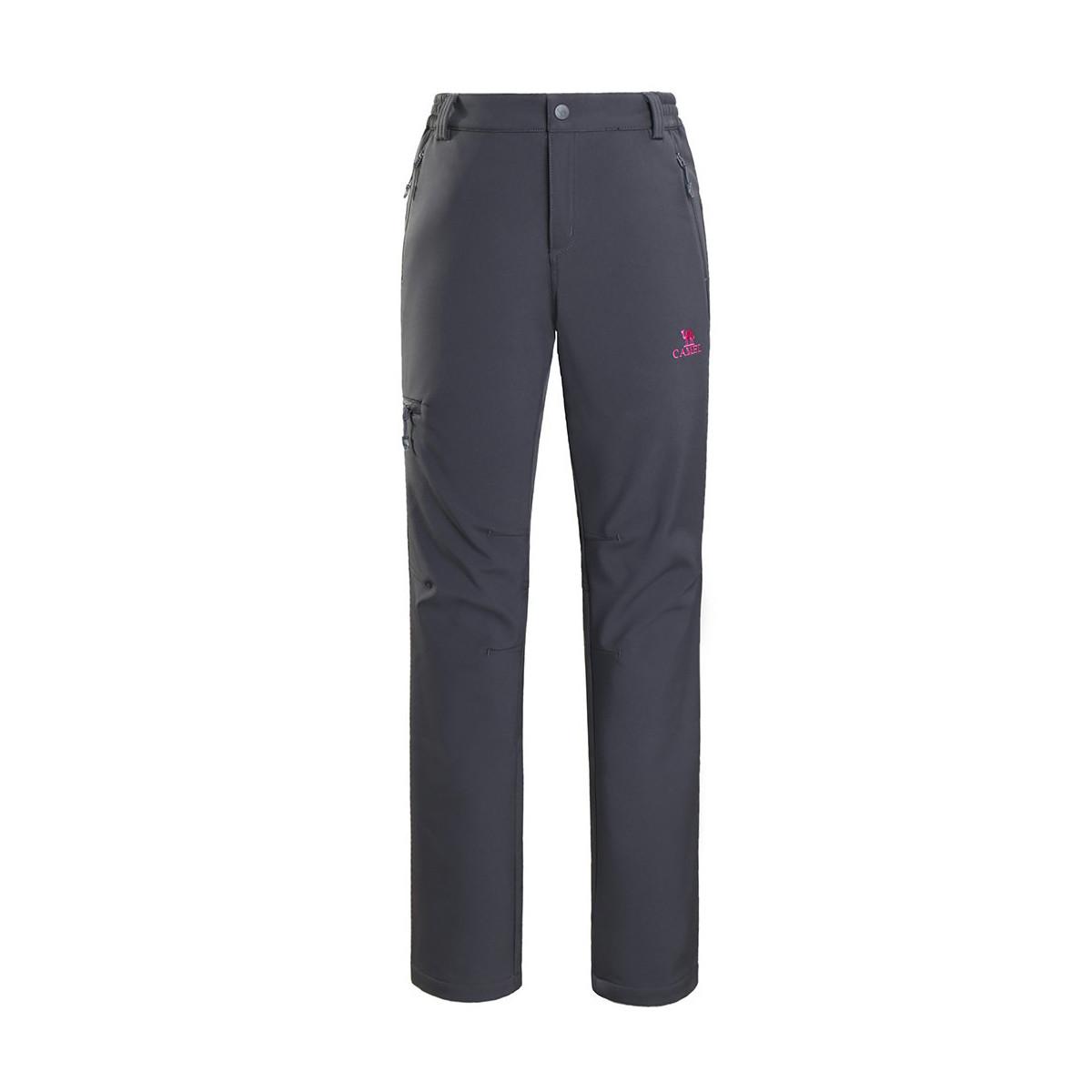 骆驼骆驼户外徒步运动登山裤透气防泼水耐磨面料 女款软壳裤13A7W31Y5102AS4