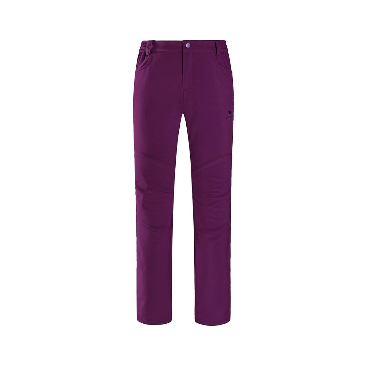 骆驼骆驼户外徒步运动旅游登山裤透气舒适潮流时尚简约 女款软壳裤74A7W4118135ATK