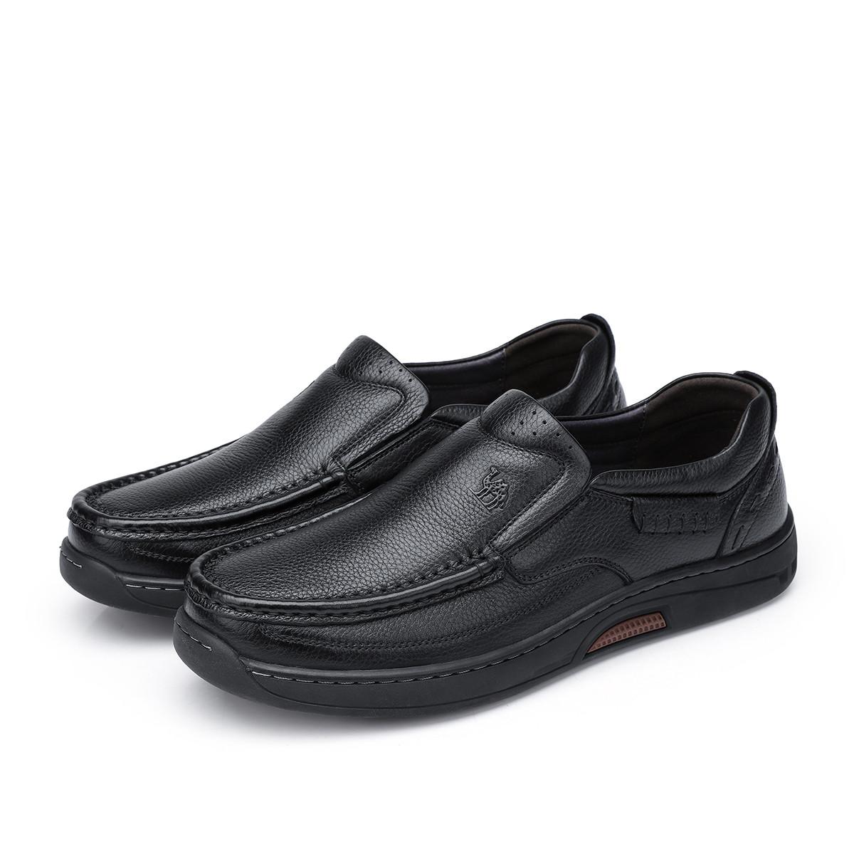 骆驼2019 男款商务休闲鞋司机鞋/驾车鞋舒适轻奢弹性套脚爸爸鞋90826063932820HE