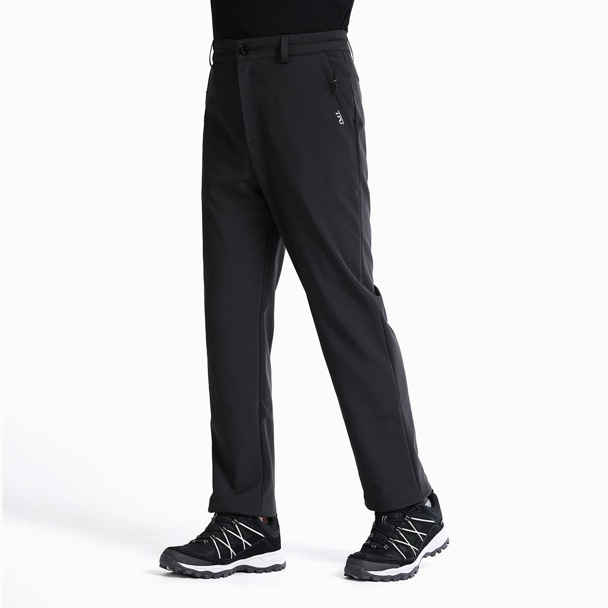 TFO防风修身弹力商务休闲 男款旅行软壳裤772993F00