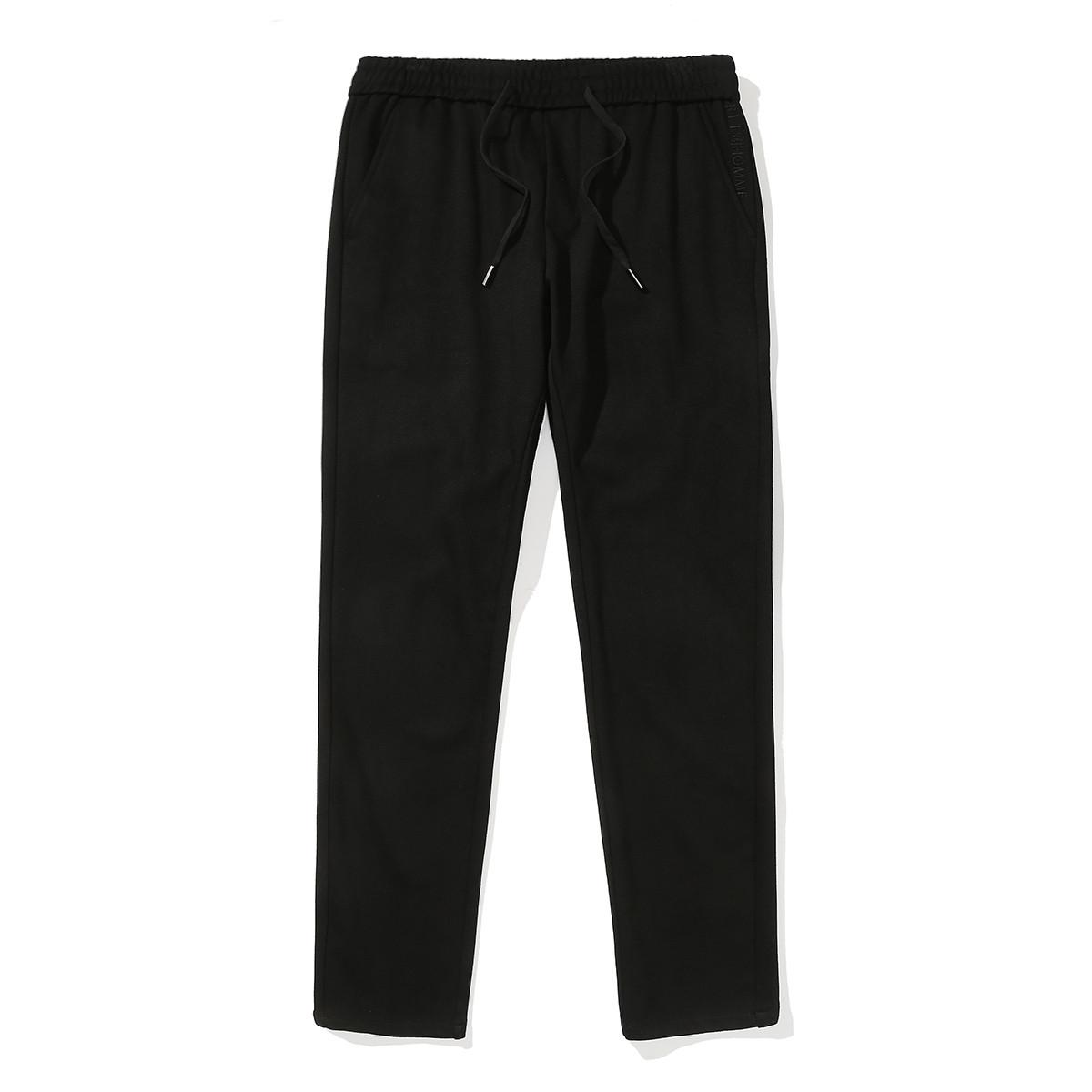 ELLE HOMMEELLE HOMME2019新款男式简约系带休闲长裤ELSHD0683I04