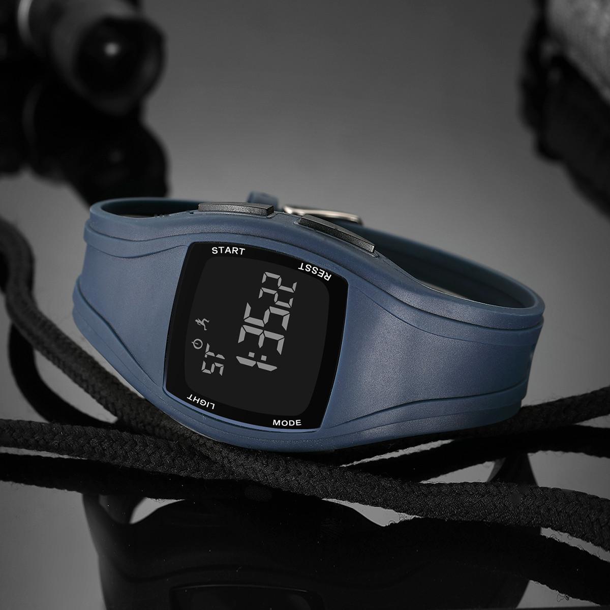 锐力锐力手表 时尚多功能数字显示电子表青年学生男表职场商务休闲R90007G1L12