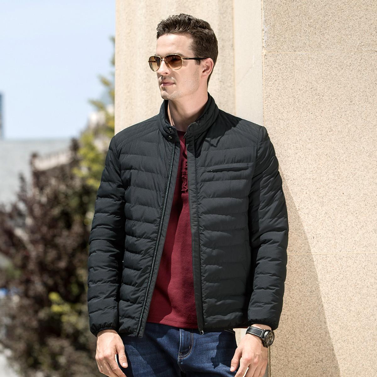骆驼牌骆驼牌 秋冬立领挺括防风保暖 短款轻薄 男士棉衣外套WZ80932240HE