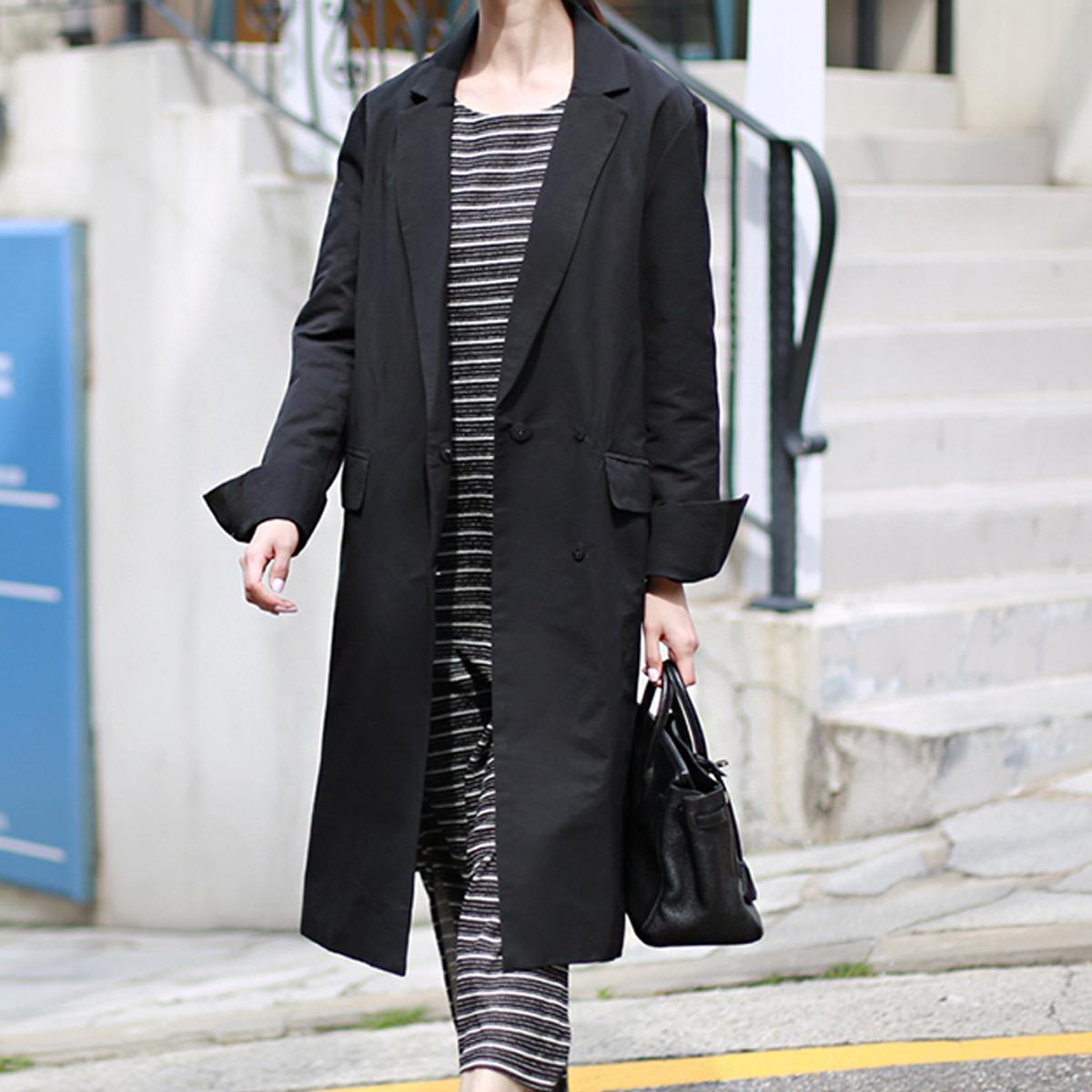 greygrei【greygrei】2020春秋季新款韩版中长款女式大衣474greygreiblc1