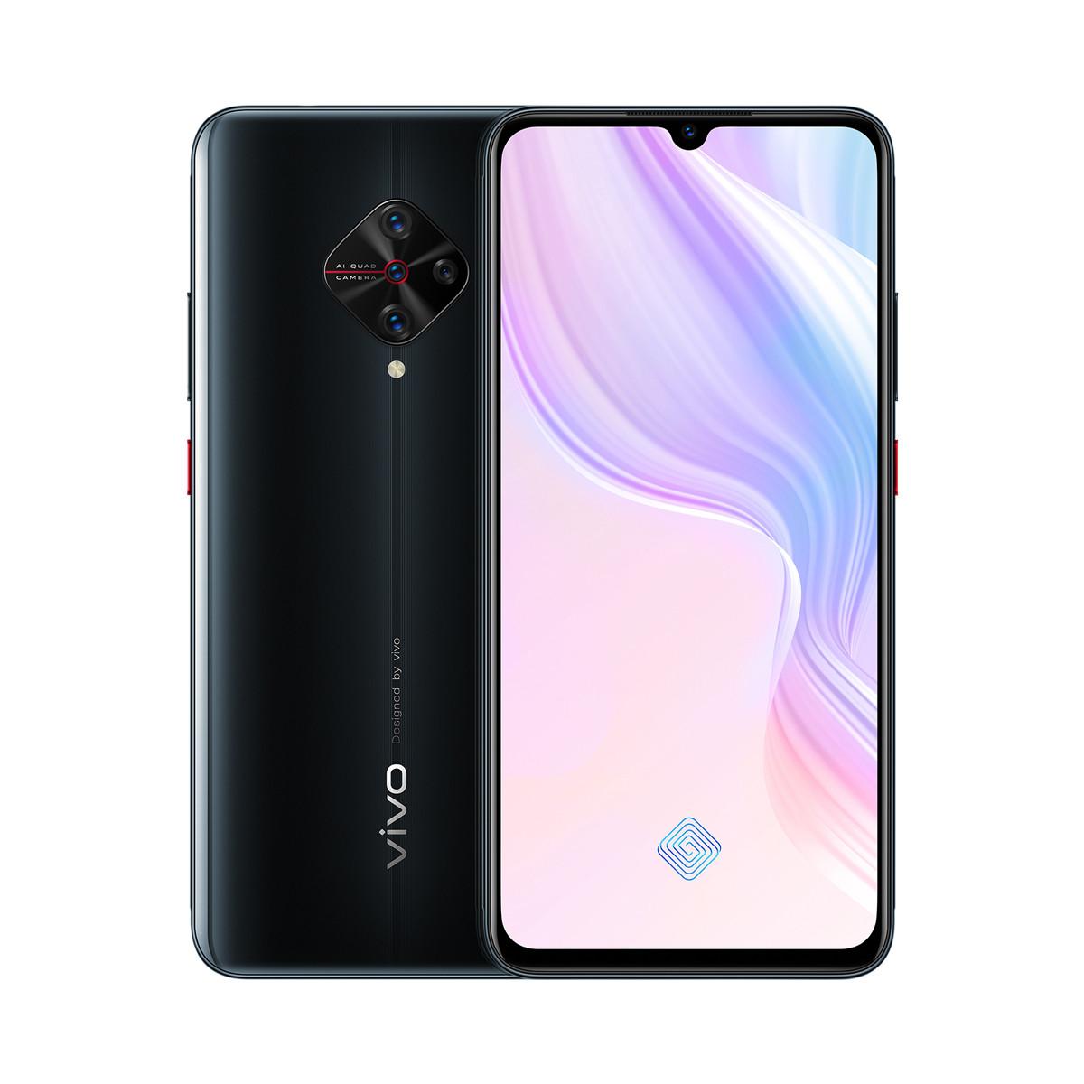 vivoY9S 大屏大电池全网通美颜拍照手机Y9s-128G-8G-琉璃黑