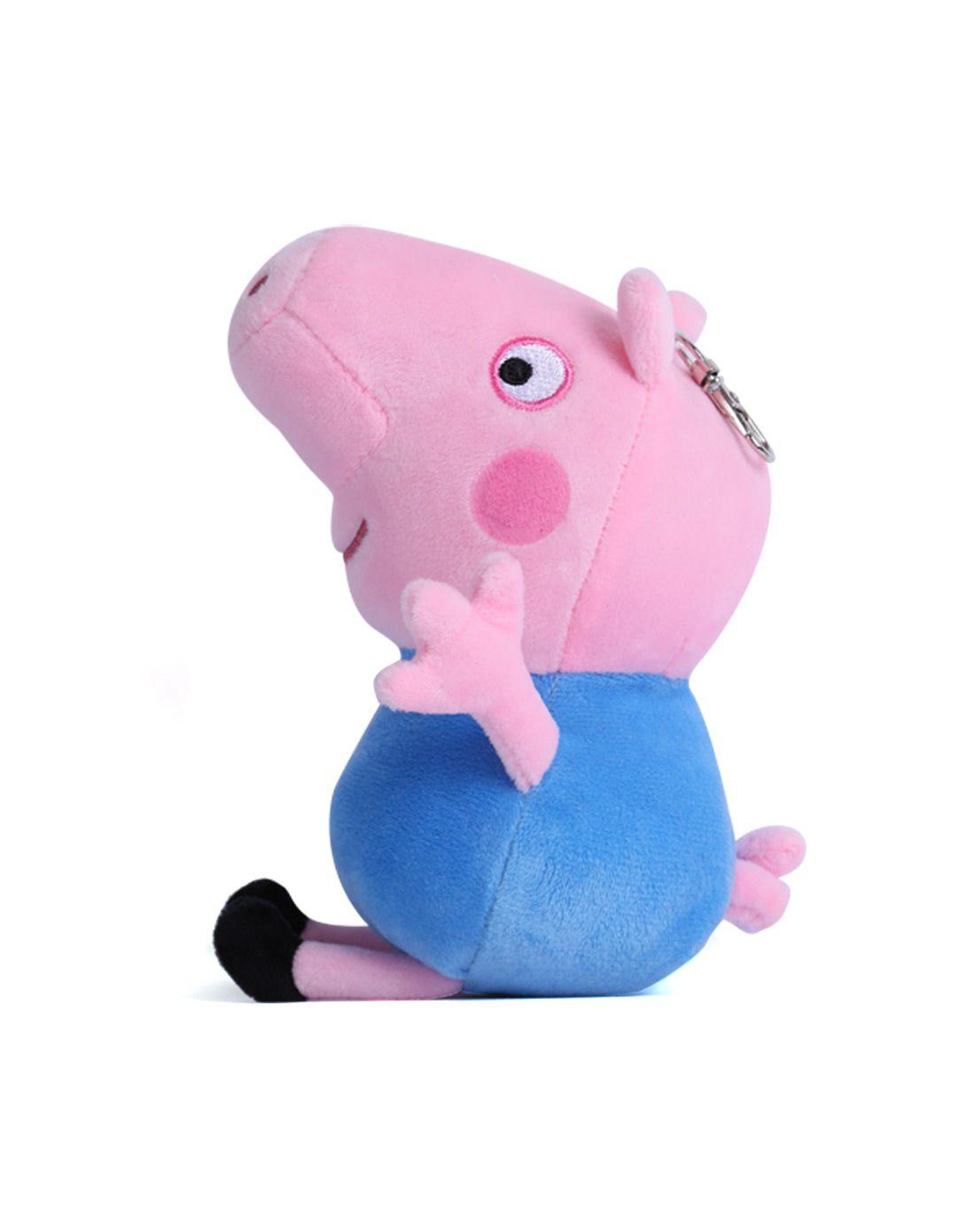 【两件起售】小猪佩奇 毛绒玩具乔治19cm