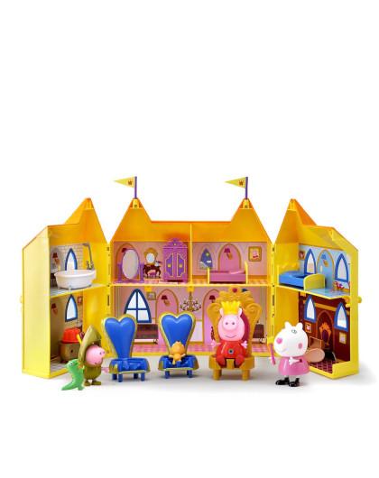 英国小猪佩奇可爱卡通玩具专场小猪佩奇玩具 公主城堡