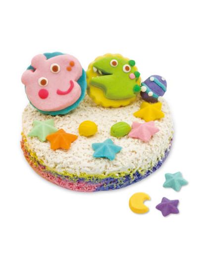 【送礼精选】小猪佩奇儿童彩泥橡皮泥套装含工具 男孩女孩喜爱玩具