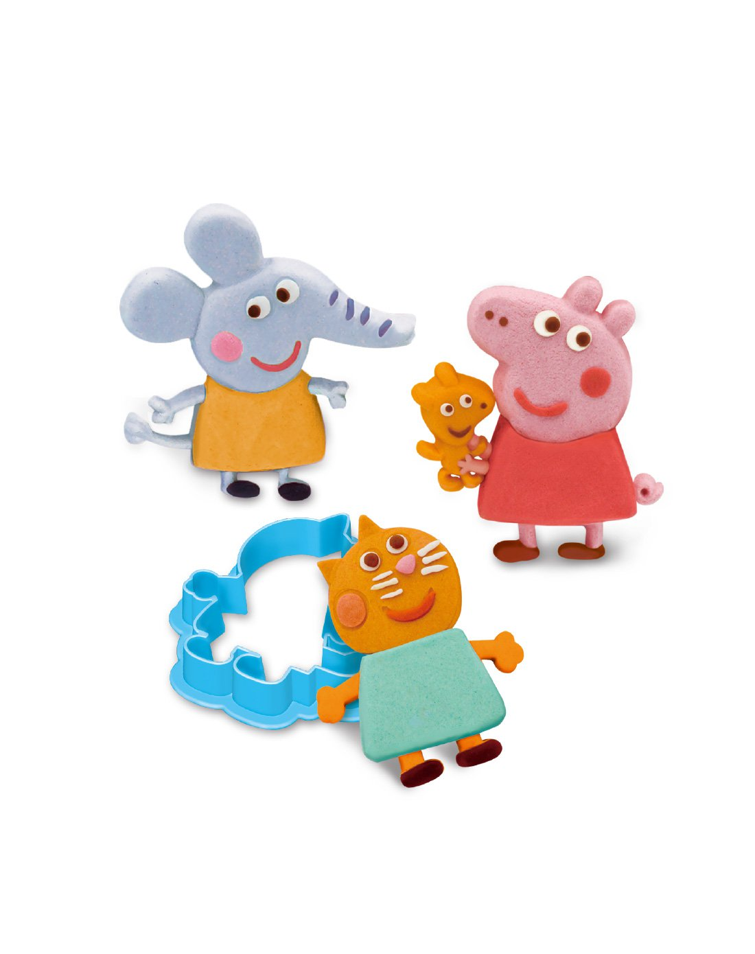 小猪佩奇橡皮泥粘土彩泥套装男女孩 小猪佩奇工具组