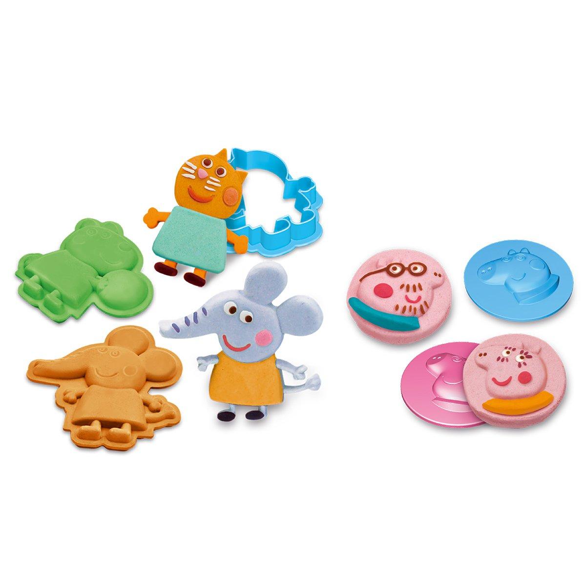 【元旦礼物】小猪佩奇儿童彩泥橡皮泥套装含工具 男女孩喜爱玩具
