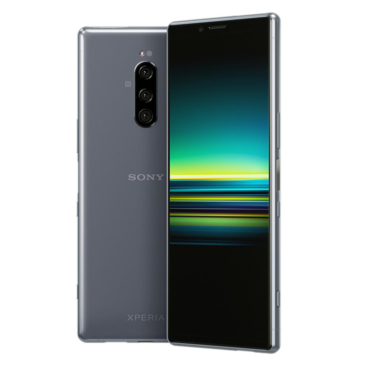 SONY索尼手机Xperia 1 4K屏幕HDR OLED全面屏三摄拍照21:9智能手机Xperia 1H