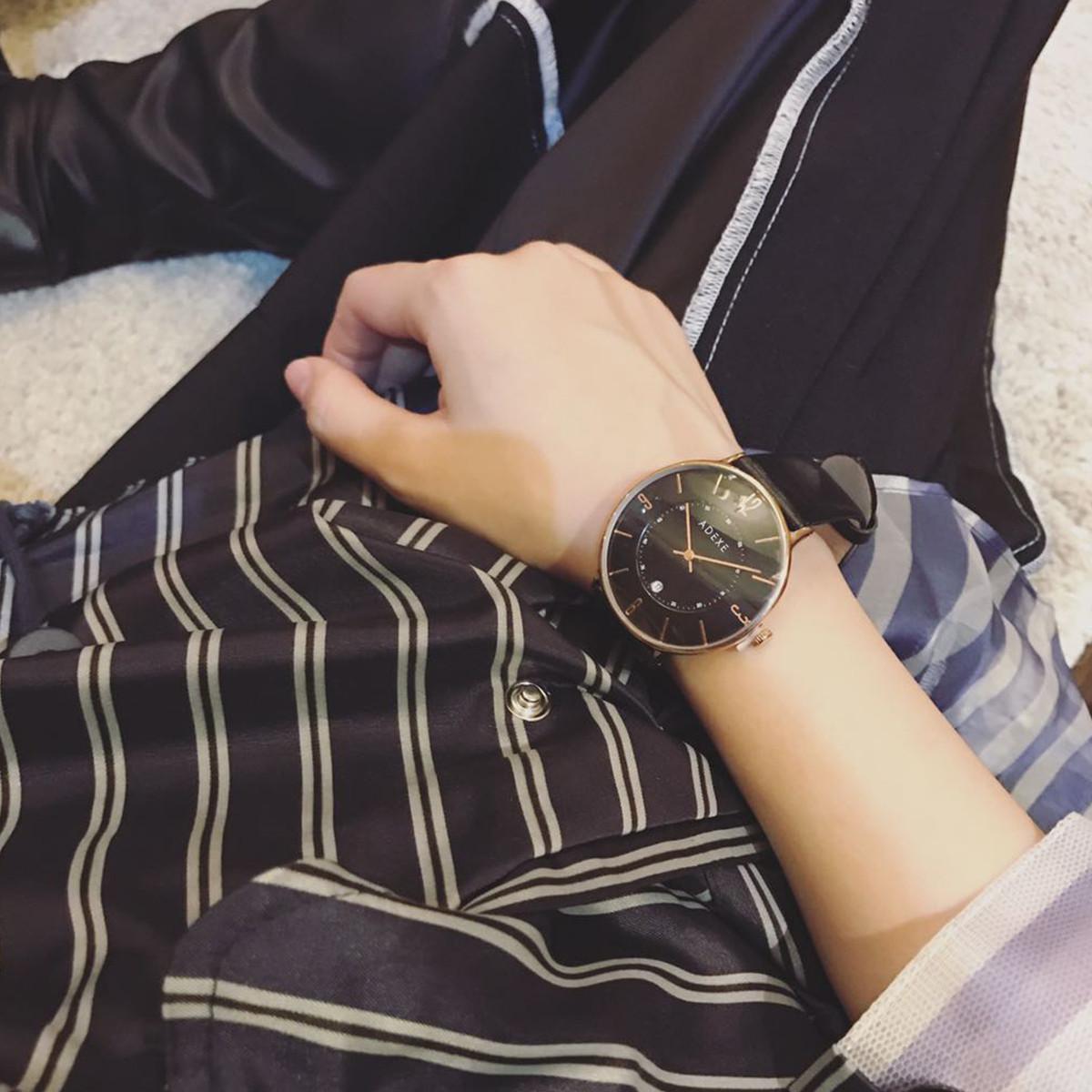ADEXE【唯品自营】ADEXE英国防水石英dw-ck男士手表男表1890A-05