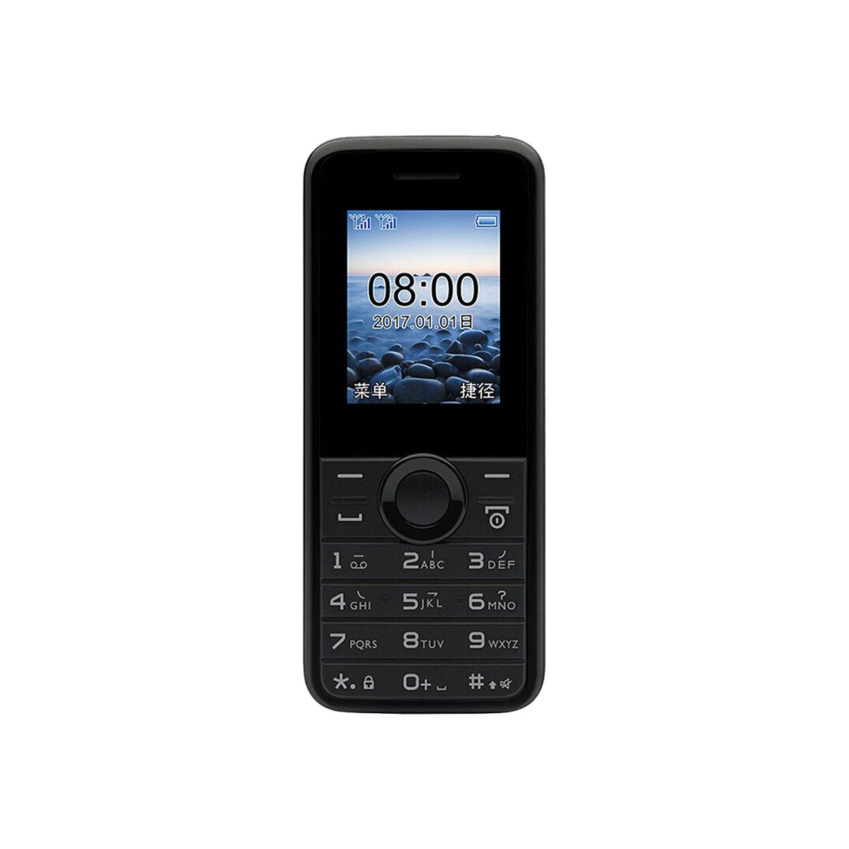 飞利浦Philips/飞利浦 E106 移动版 双卡双待 手机飞利浦 E106 石墨黑