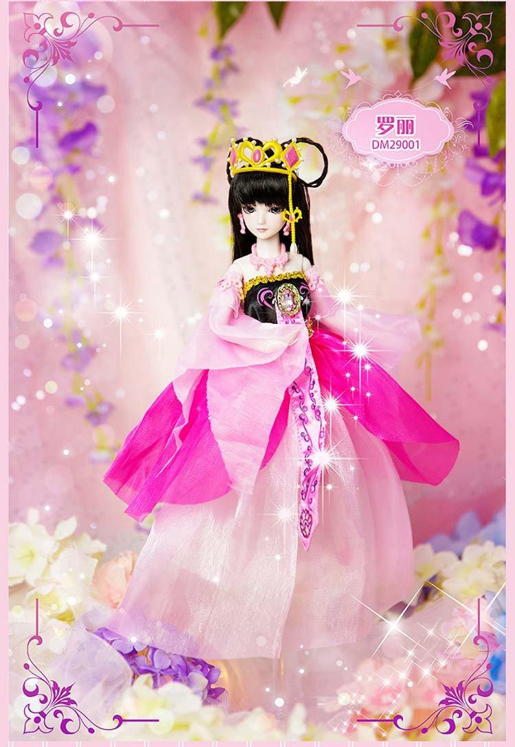 叶罗丽芭比娃娃儿童生日礼物精美礼盒装洋娃娃 女孩玩具 29厘米 茉莉