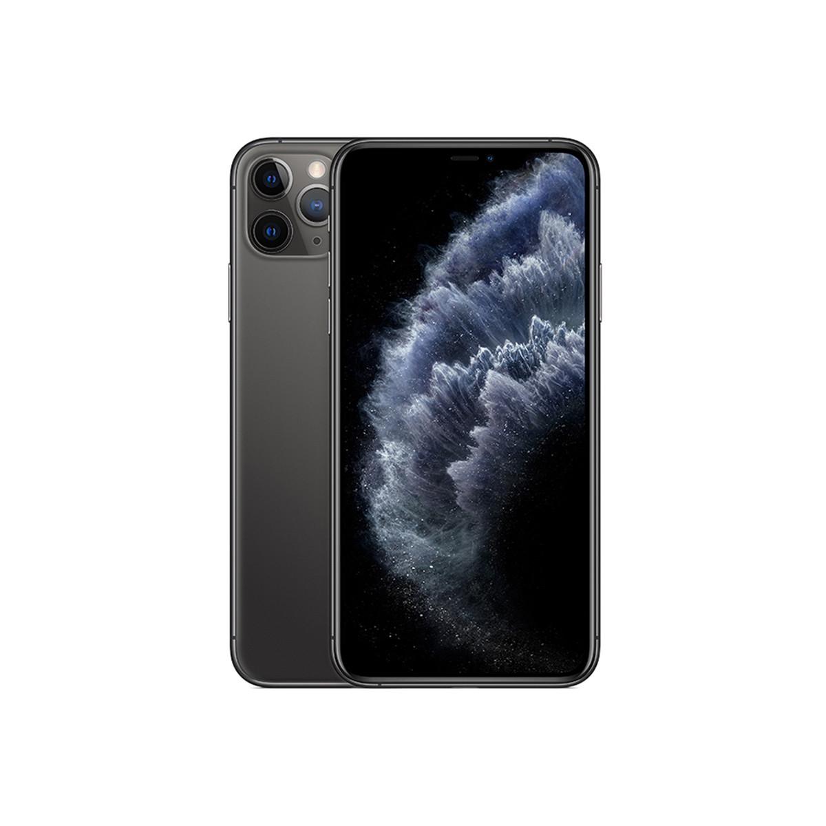 苹果iPhone 11 Pro Max 【转接头套餐】双卡双待 全网通 4G手机苹果iphone11Pro Max-TC1深空灰