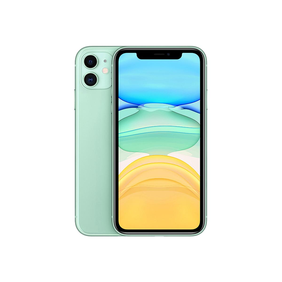 苹果iPhone 11 128GB【转接头套餐】双卡双待 全网通 4G手机苹果iphone11-TC1绿色128G