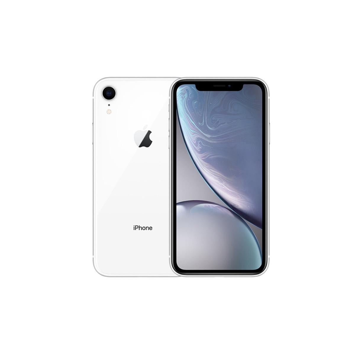 苹果iPhone XR【壳膜+懒人支架指环扣套餐】全网通 4G手机DFXYD-iPhone XR白色