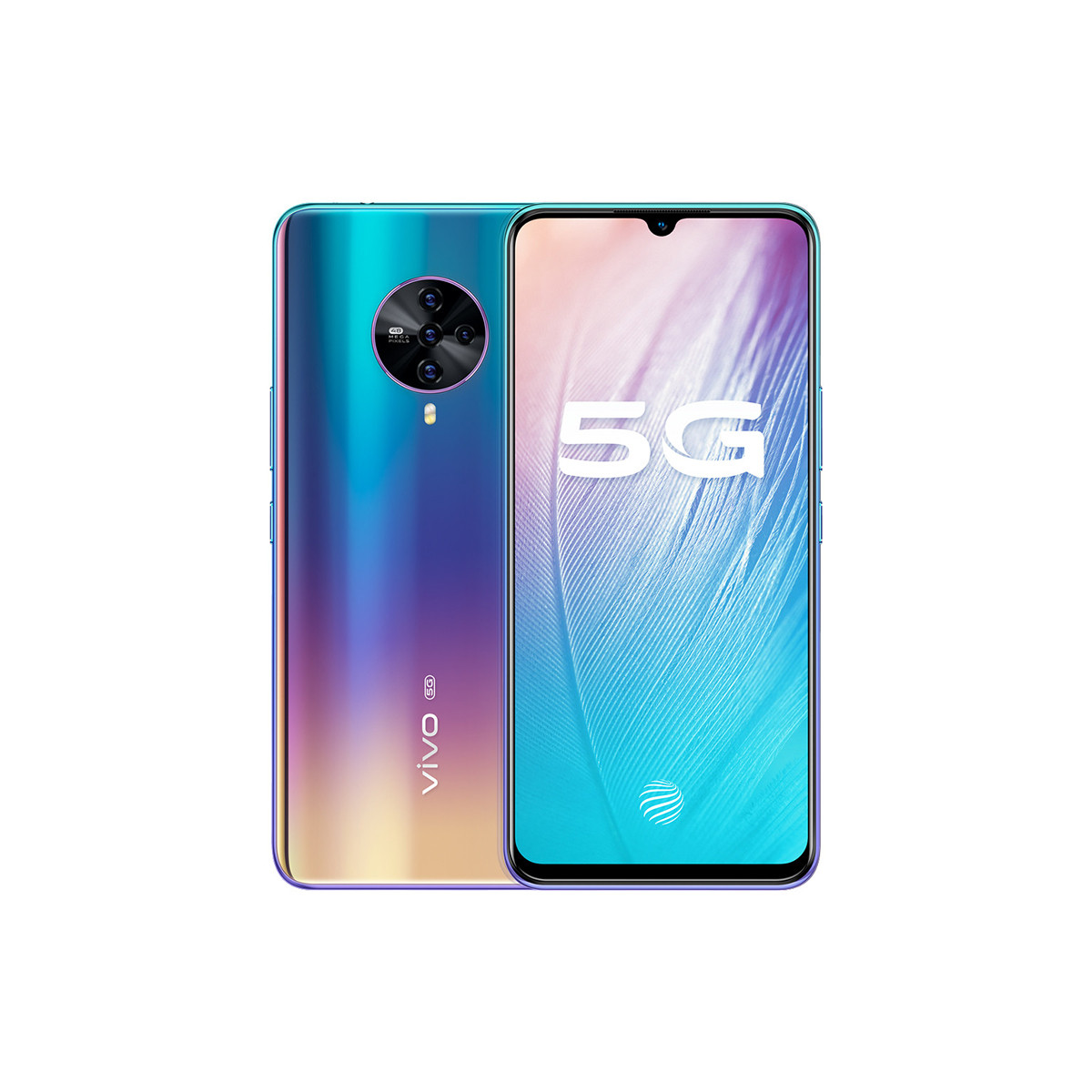 vivovivo【新品速发】S6双模5G 4800W超级四摄拍照手机S6-8G-128G-流光秘境