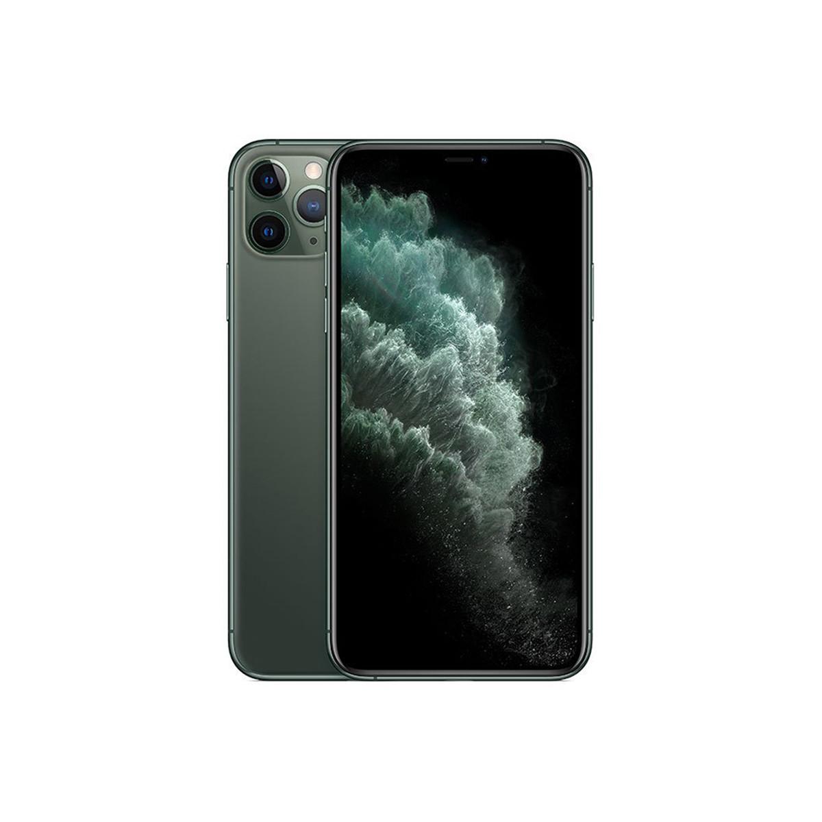 苹果iPhone 11 Pro Max【壳膜+无线充套餐】全网通 4G手机TYKJ-IPhone11 PRO MAX 暗夜绿WXC