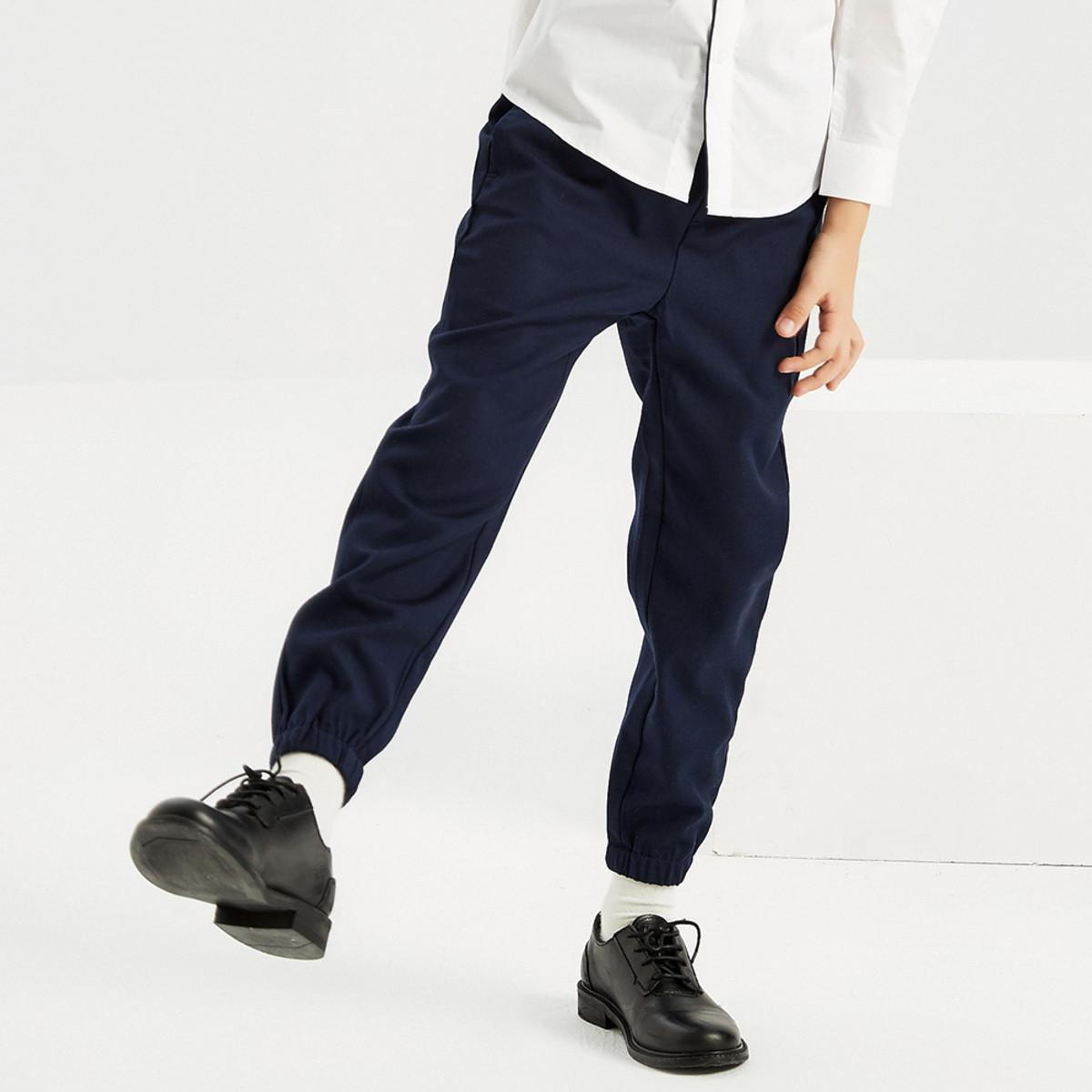 MECITY KIDS米喜迪mecity童装秋装新款男童西裤式梭织长裤50235890