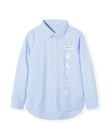 巴拉巴拉童装儿童衬衫2019新款春季中大童男童衬衣长袖上衣棉