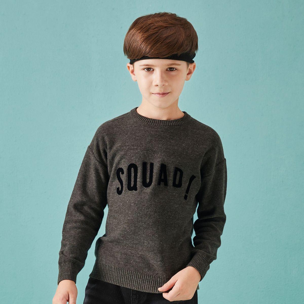 巴拉巴拉巴拉巴拉男童新款秋装中大童儿童毛衣男童针织衫套头线衫针织衫280331813044910