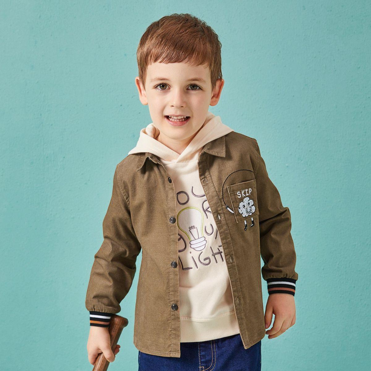 巴拉巴拉巴拉巴拉男童衬衫儿童衬衣宝宝秋装新款小男孩上衣韩版休280231812625701