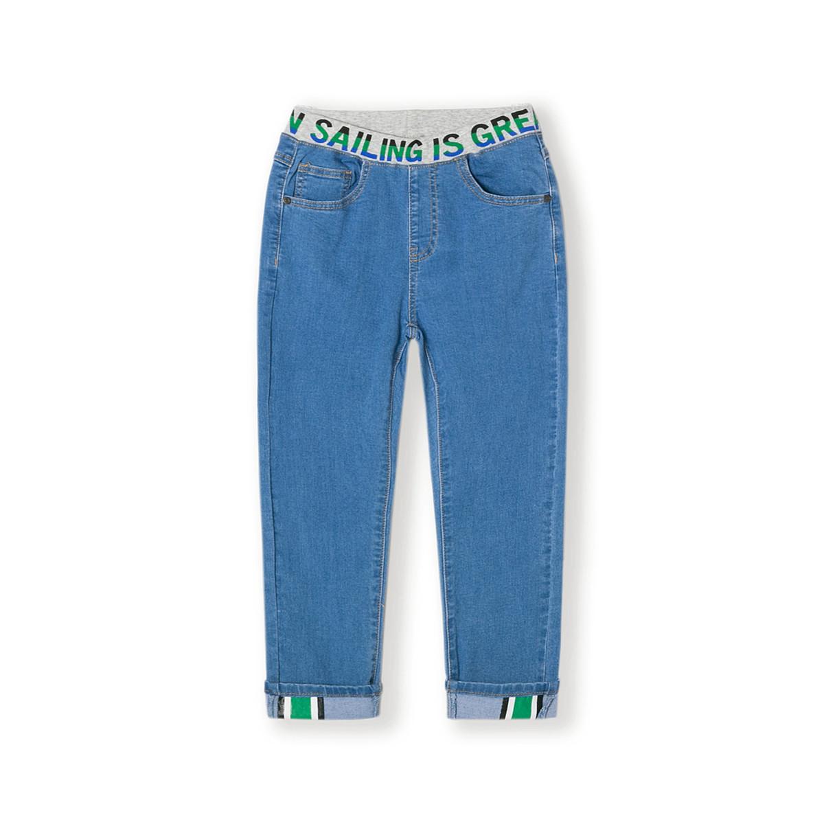 巴拉巴拉巴拉巴拉儿童长裤男童裤子2019新款春季中大童童装休闲牛仔裤220811814080820
