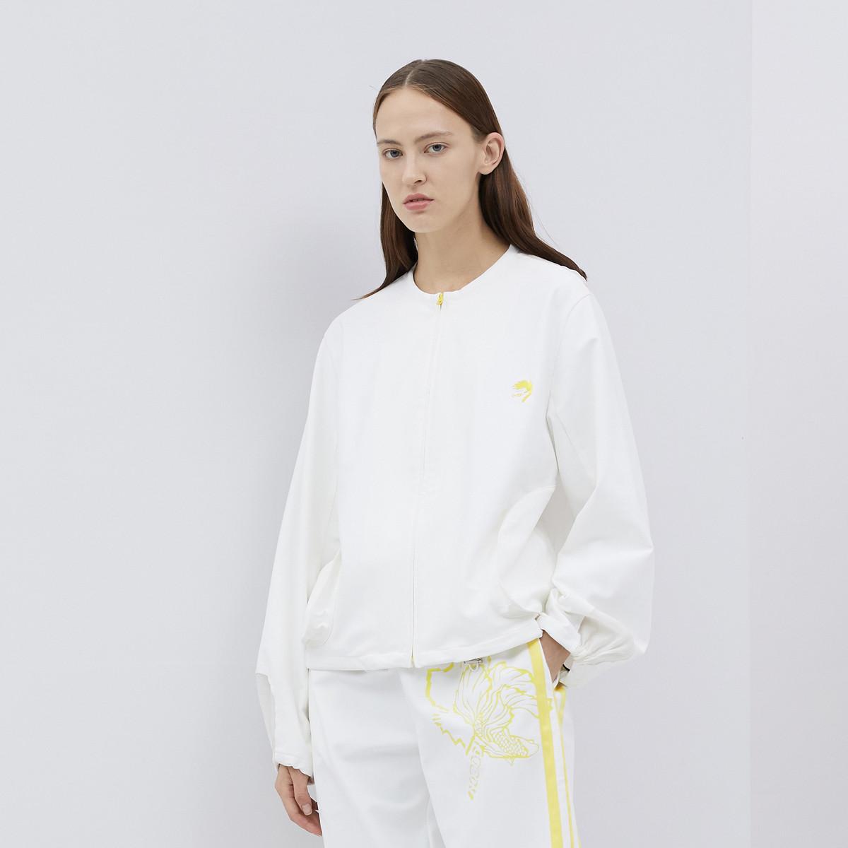 玛丝菲尔Marisfrolg/玛丝菲尔灯笼袖长袖简约女式棒球服外套A1JS11938