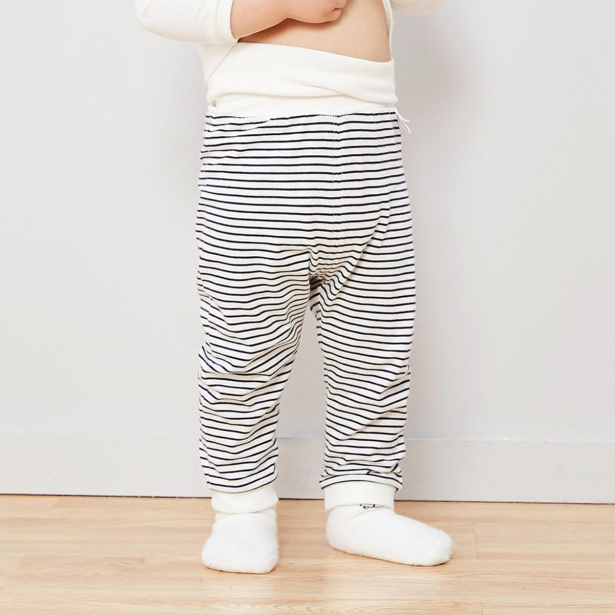 Mini Balabala迷你巴拉巴拉男女婴儿护肚裤2019秋装保暖裤宝宝裤子婴儿裤子M03211921020418