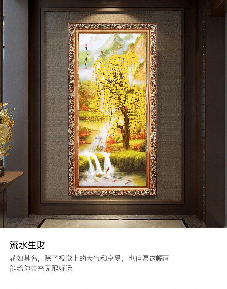 画沙发背景墙客厅装饰画  是否套装: 套装 装裱方式: 有框 风格: 欧式