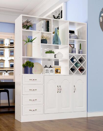 现代简约玄关柜客厅隔断柜家用大容量鞋柜门厅柜储物柜酒柜